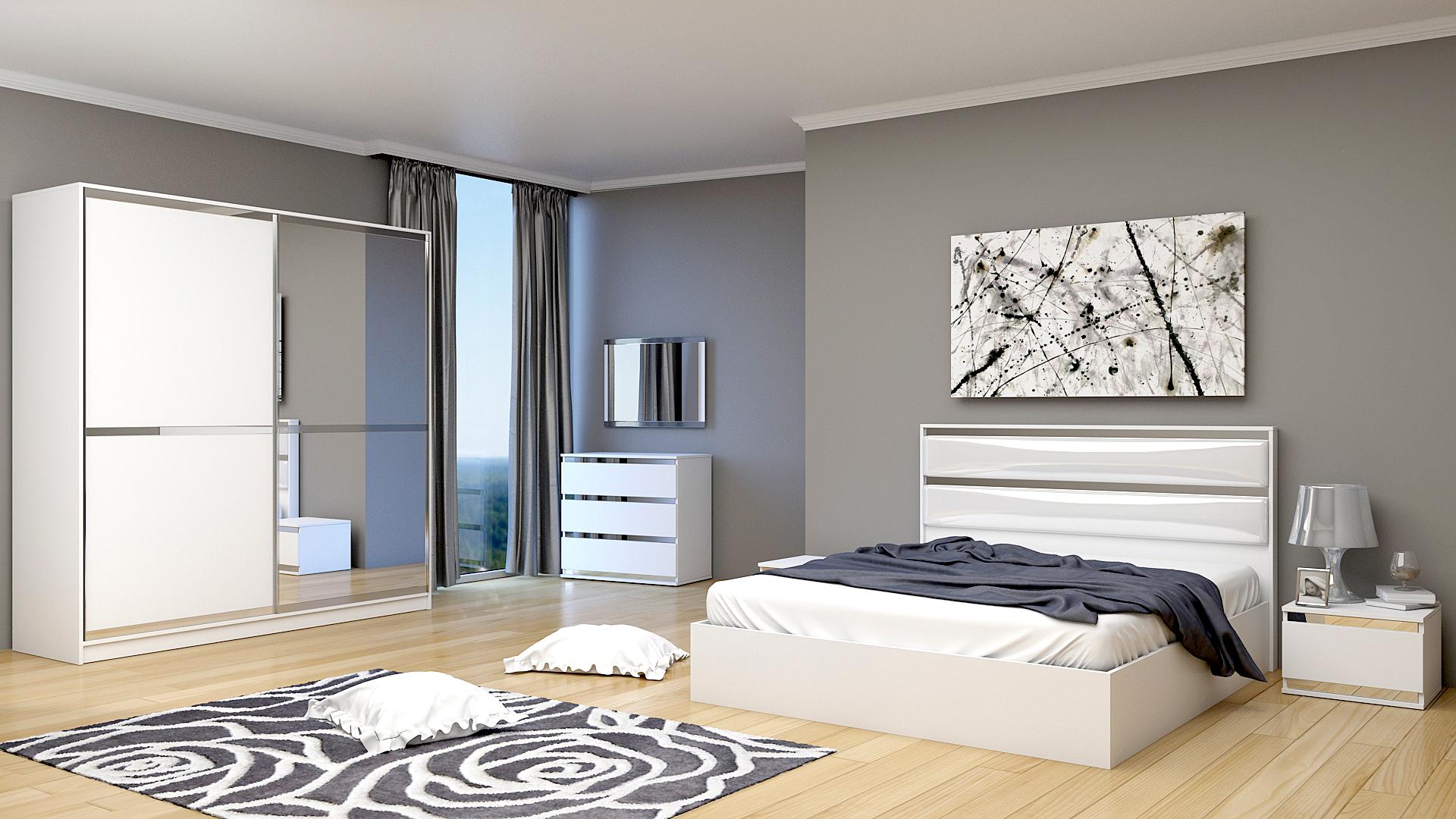 Спален комплект БРЕНДА Мебелен салон Дантес Мебели